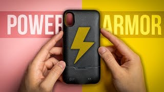 WIRELESS Charging + TOUGH Case?! - Encased Rebel Power Battery Case for iPhone XS Max - Review