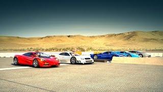 Forza 6: World's Greatest Drag Race! FASTEST 90's Supercars.