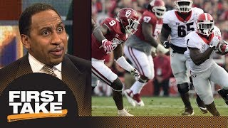 Stephen A. Smith says Oklahoma blew it against Georgia in CFP Semifinals | First Take | ESPN