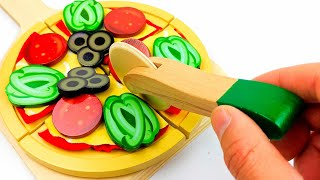 Make Pizza Toy Playset Learn Colors Counting and More for Kids