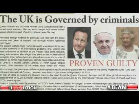 SICKENING! Obama meets Pope Francis days before trial for child RAPE & GENOCIDE   YouTube 360p