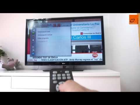 Cómo resintonizar los canales de la TDT en la televisión