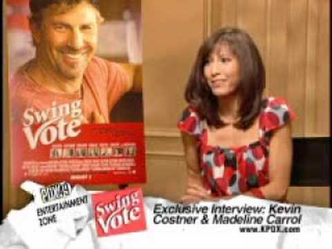 Kevin Costner Swing Vote Interview