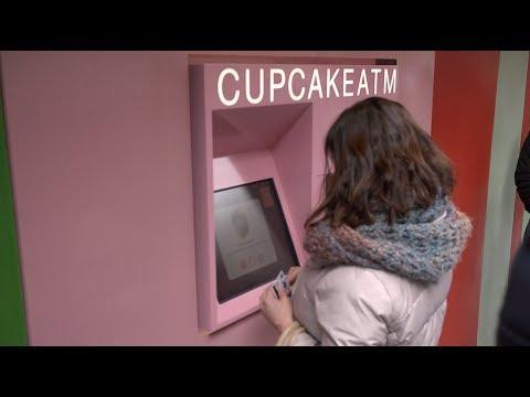 24-Hour Cupcake ATM Opens