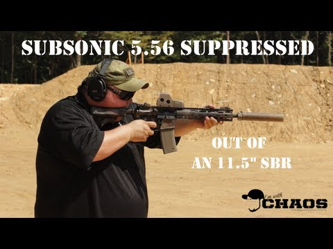 Will your AR15 shoot subsonic .223/5.56?
