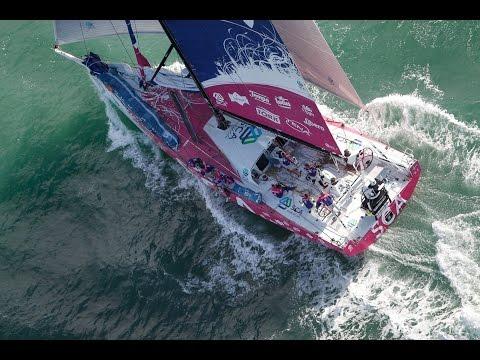 Live recording - Team SCA Itajaí arrival | Volvo Ocean Race 2014-15