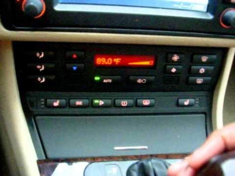Bmw E46 Hvac Automatic On Climate Control Retrofit Diy