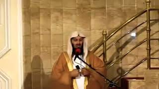 Mufti Menk funny jokes -I saw father Christmas on the ☁