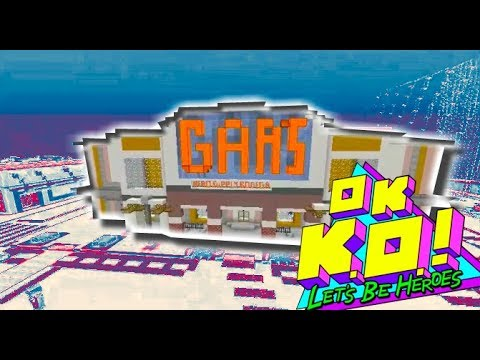 Minecraft Tutorial: How To Build OK K.O.! Let's Be Heroes Map Gar's Plaza Map Download Coming Soon