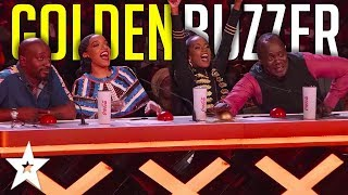 DRAMATIC Dance Group Get The GOLDEN BUZZER On East Africa's Got Talent 2019 | Got Talent Global