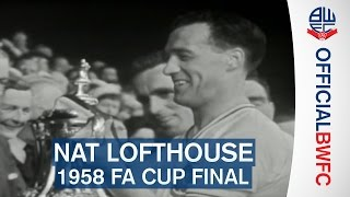 NAT LOFTHOUSE | 1958 FA Cup Final goals against Manchester United