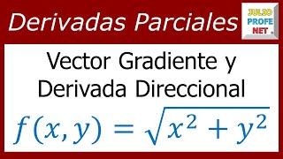 Vector Gradiente y Derivada Direccional-Vector Gradient and Directional Derivative
