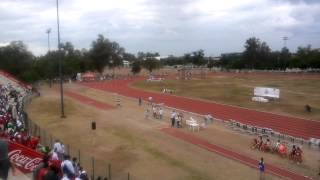 Estatal atletismo 2015 400mts juvenil superior.