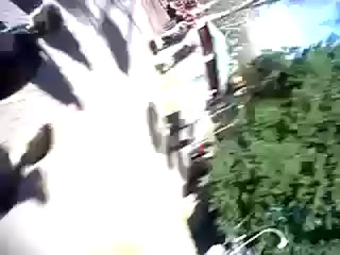 El video del accidente en el parque de diversiones de Rosario