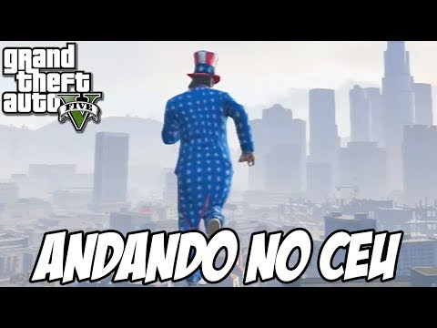 GTA V - ANDANDO NO CÉU GLITCH HUE