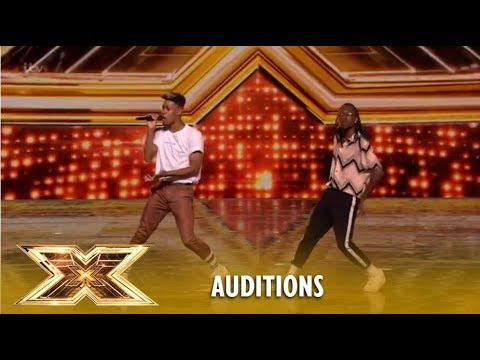 Misunderstood Are Flippin´ AMAZING With Original Juicy Fruit | The X Factor UK 2018