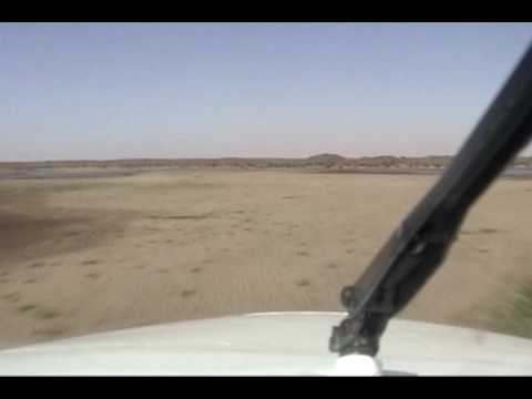 Low Level over the desert & Nile river -East Africa