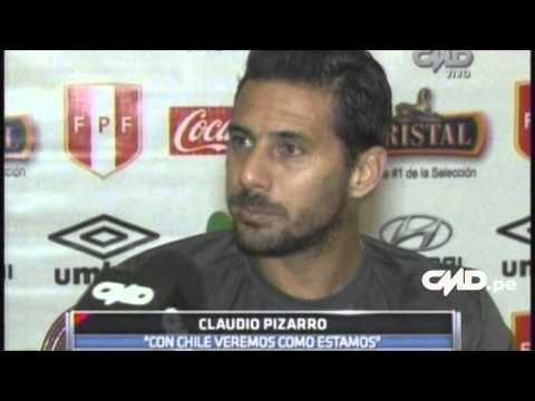 Central Deportiva: Declaraciones de Claudio Pizarro