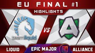 Liquid vs Alliance EU Final EPICENTER Major 2019 Highlights Dota 2