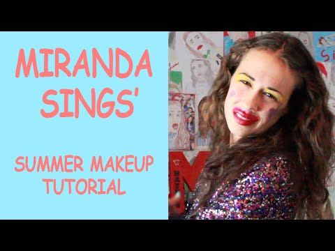Miranda Sings Summer Makeup Tutorial!