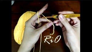 Học móc len căn bản - Bài 1: Cách cầm và chọn cỡ kim phù hợp cỡ len