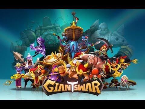 Giants War Game chiến thuật RPG kết hợp xây dựng căn cứ