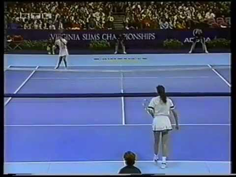 Gabriela Sabatini v Jennifer Capriati WTA 1992 pt1