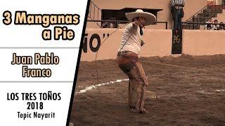 3 Manganas a Pie - Juan Pablo Franco  LOS TRES TOÑOS 2018