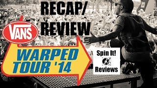 Warped Tour 2014 @ Chula Vista, CA 6/25 (CONCERT REVIEW)