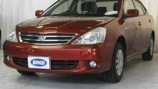 2004 Toyota Allion A18 G Package Wine Red