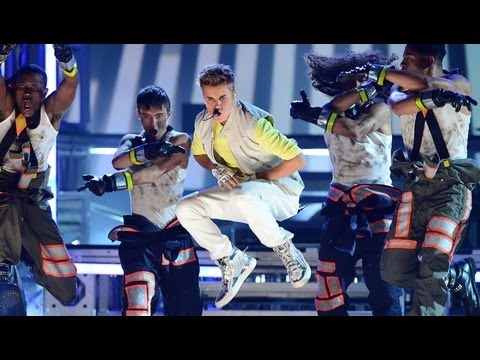 Justin Bieber Billboard Music Awards 2012 - Performance