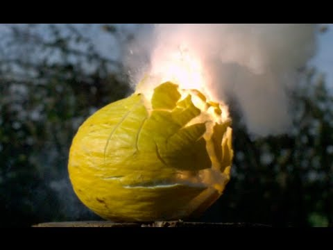 Exploding Melon! - The Slow Mo Guys