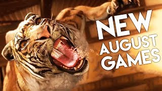 Top 10 NEW Games of August 2018