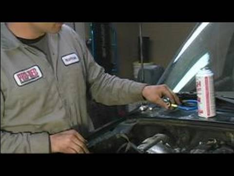 How To Recharge An Auto A C System Hooking A Gauge Set