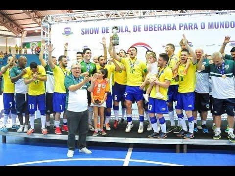 Jogo Completo Brasil 6 x 2 Argentina - Final Copa Sul-Americana de Futsal 2016 (08/05/2016)