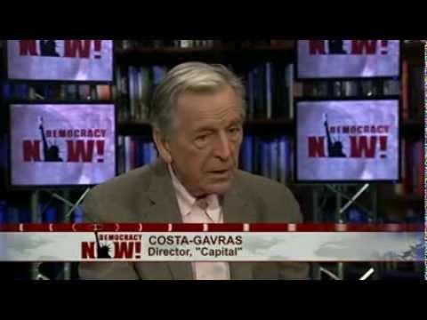 Taking on Capitalism, U.S. Torture & Dictatorships, Costa-Gavras on Decades of Political Filmmaking