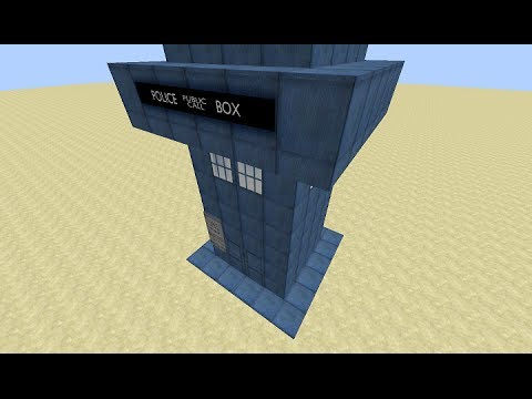 Minecraft TARDIS Konsepti