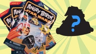 Angry Birds Star Wars Toys Blind Bag Series 1 Opening Review