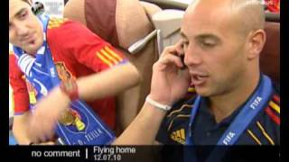 World Cup: on board with the spanish national team - No comment