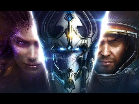 СТАРКРАФТ. ПОЛНЫЙ ФИЛЬМ. ВСЯ ТРИЛОГИЯ (игрофильм Starcraft 2) [1080p]