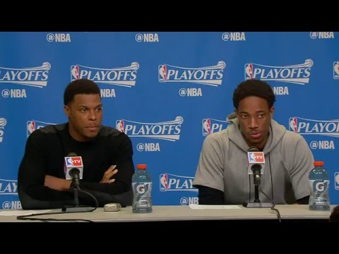Raptors Post-Game: Kyle Lowry & DeMar DeRozan - May 13, 2016