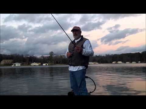 LAKE GUNTERSVILLE bass fishing Dec 2012 III