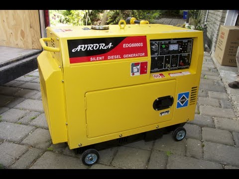 Silent Diesel Generator Video