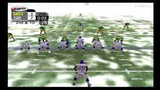 NFL 2K5 - Vikings vs Packers