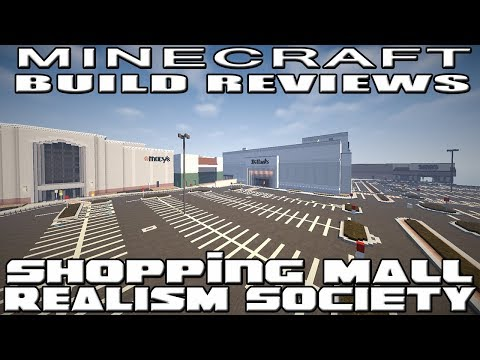 Minecraft : RealismSociety Reviews - Shopping Mall