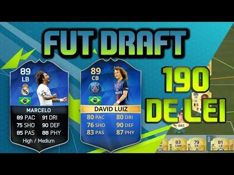 EU CONSEGUI 190 FIFA 16 FUT DRAFT SHOW DO MARCELO