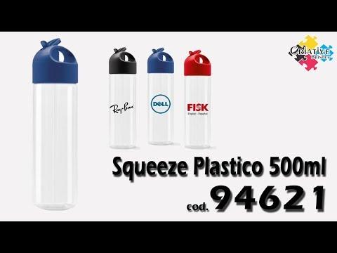 Squeeze Plástico 500ml 94621 - Criative Brindes