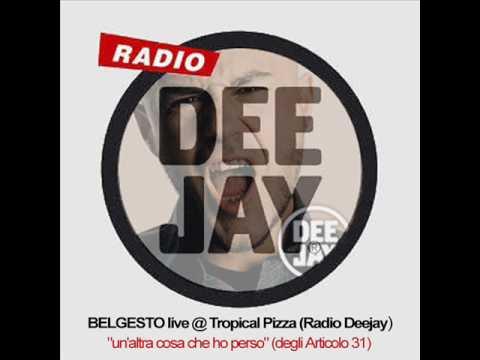 Alberto Belgesto – UN'ALTRA COSA CHE HO PERSO (2002 live @ Tropical Pizza RADIO DEEJAY)