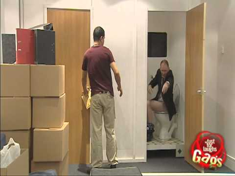JFL Hidden Camera Pranks & Gags: Toilet Exit Gag