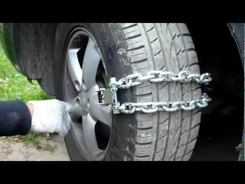 Как своими руками сделать цепи на колёса